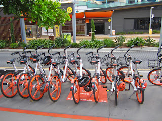Mobikes Surfers Paradise
