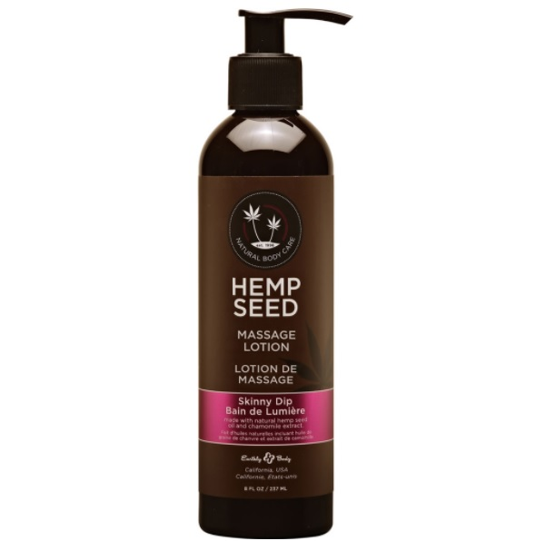 Earthly Body Hemp Seed Massage Lotion