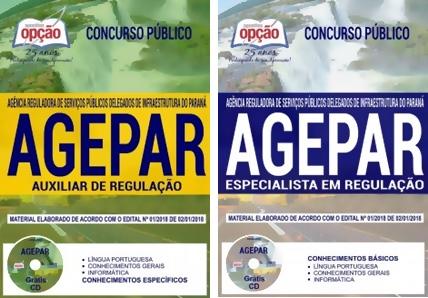 Apostila AGEPAR-PR 2018