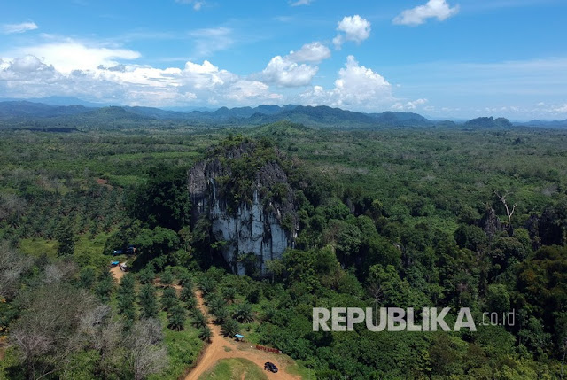Tim republika.co.id Potret Drone Goa Batu kapal