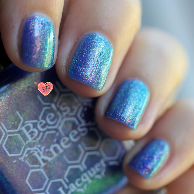 Bee's Knees Lacquer House on Haunted Chill swatch by Streets Ahead Style