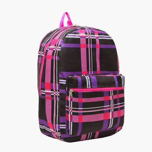 Multi Compartment Backpack Student School Book Bag