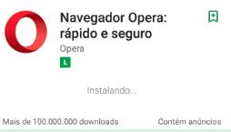 Como fazer para instalar o Opera