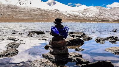 The serene Gurudongmar Lake at North Sikkim @DoiBedouin
