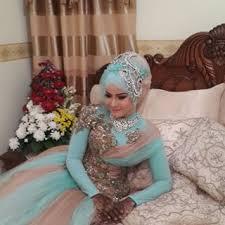 Koleksi Dan Tips Memilih Gaun Pengantin Muslimah Muslimah Cantik