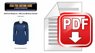 TNG medical smock (Dr. Pulaski uniform) costume analysis