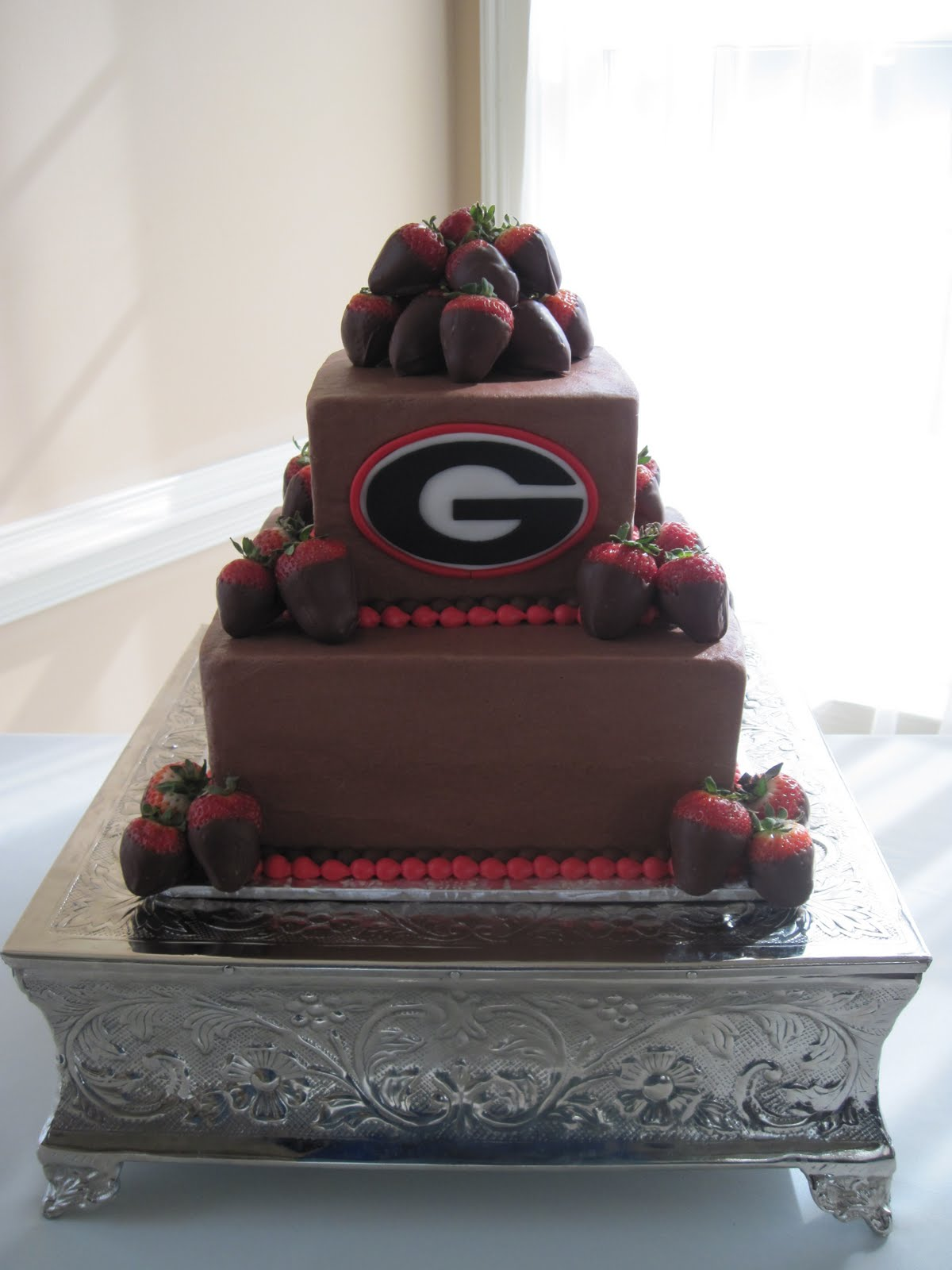 Heather S Cakes And Confections Uga Groom S Cake