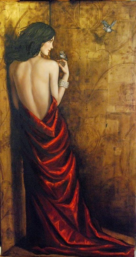 Retorno Para Inocência - Lauri Blank e suas pinturas cheias de emoções