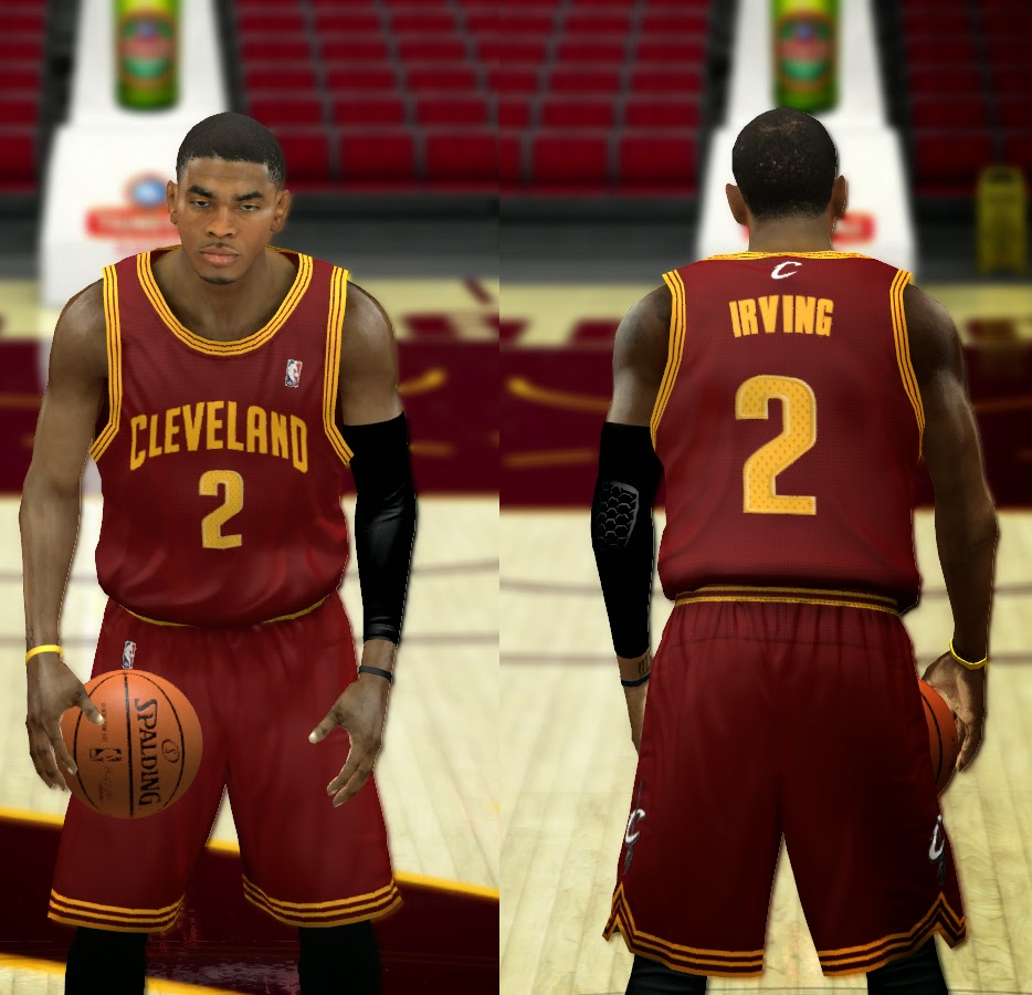69703c249e24 NBA 2K14 Complete Cleveland Cavaliers Jersey Patch - NBA2K.ORG