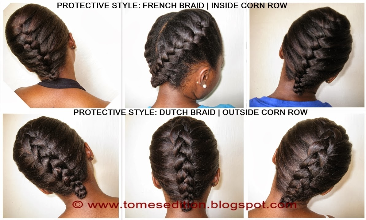 Tomes Edition: Protective Hairstyles for Relaxed, Texlaxed ...