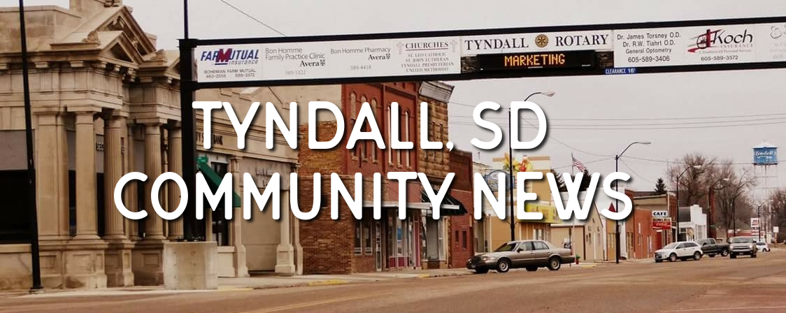 Tyndall, SD Community News