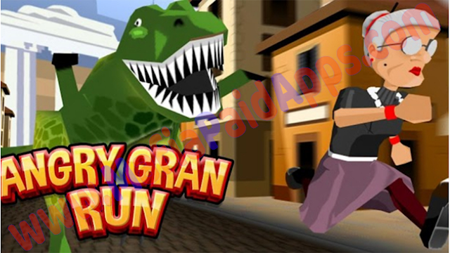 Angry Gran Run 1.59 Mod (Money/Unlocked) Apk for android