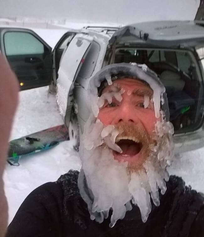 17 Pictures That Prove Winter Isn't For The Faint-Hearted