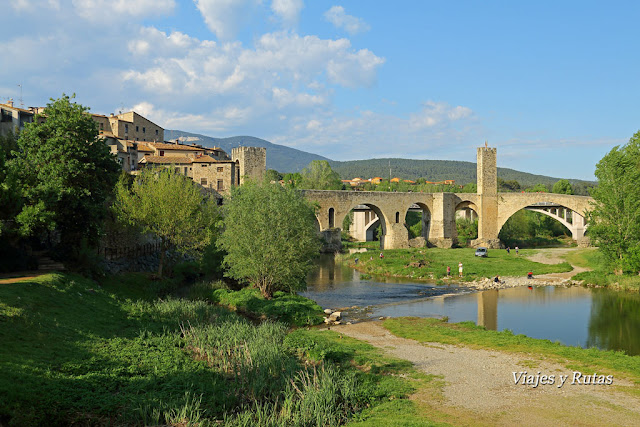 Puente de Besalú, Girona