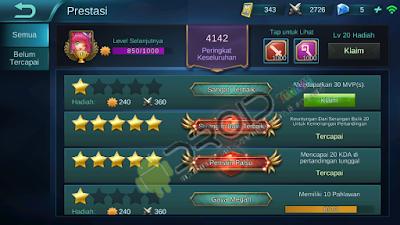 Cara Cepat Mendapat Poin Pertarungan Game Mobile Legends