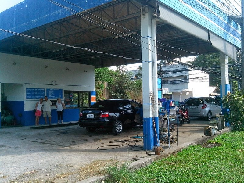 автомойка в Таиланде