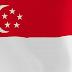 Le drapeau singapourien