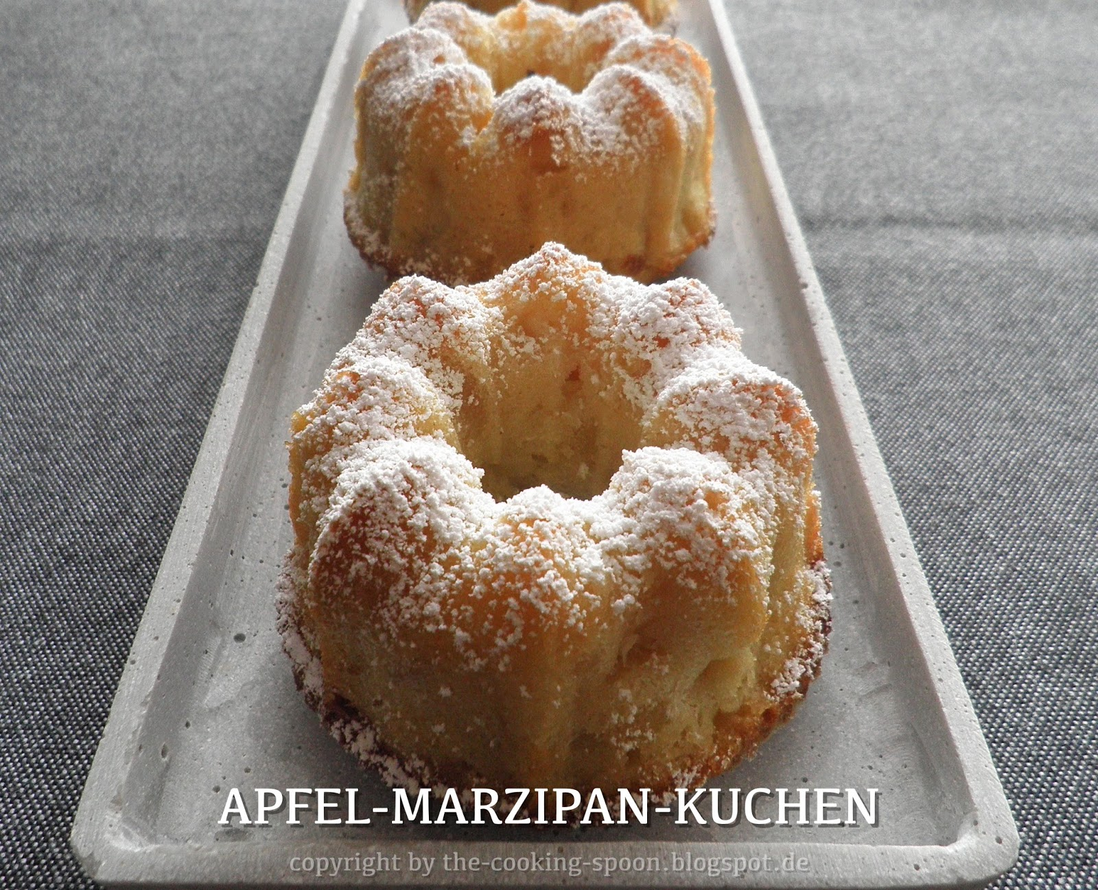 The Cooking Spoon Apfel Marzipan Kuchen