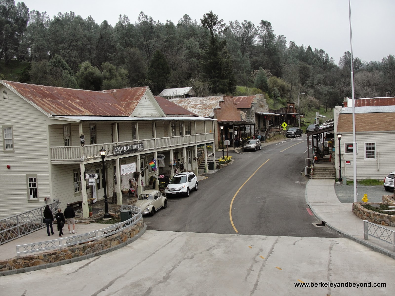 Main Street in Amador City, California