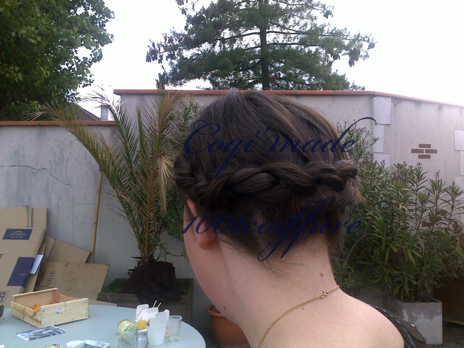 1001 coiffures tuto coiffure la couronne de tresse pour. Black Bedroom Furniture Sets. Home Design Ideas