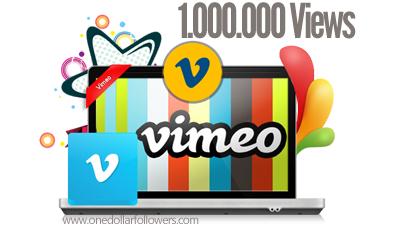 Buy 1 Million Vimeo Views