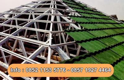Kontruksi Rangka Atap Baja Ringan Terbaik di Jakarta