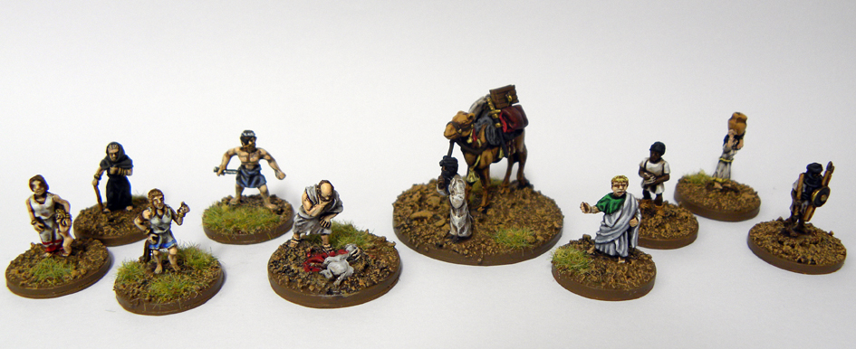 Irregular Wars: Wargaming at the World's End: Painted 15mm ancient