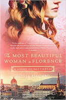 "The Most Beautiful Woman in Florence"" by Alyssa Palombo (Book cover)"