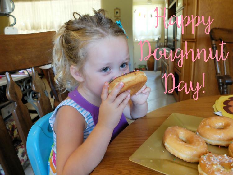 It's Doughnut Day!