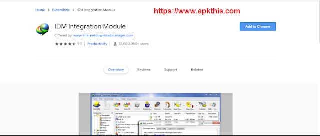 IDM Chrome Extension crx download