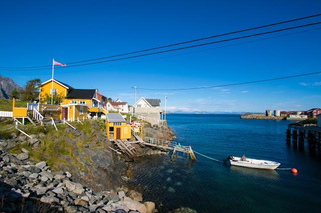 Rorbu ad Henningsvaer-Isole Lofoten