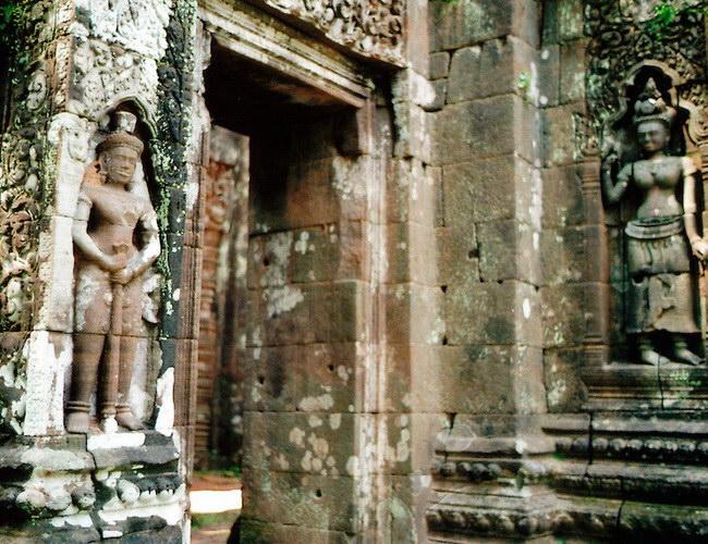 Xvlor Wat Phu is mysterious ruins of Shiva Hinduism and Theravada Buddhist