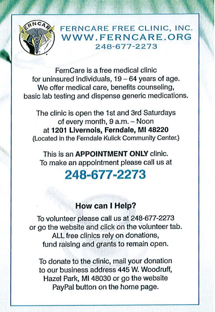 Deep Cutz - [[Uncutz]]: Help Free Health Care Clinic Open It's