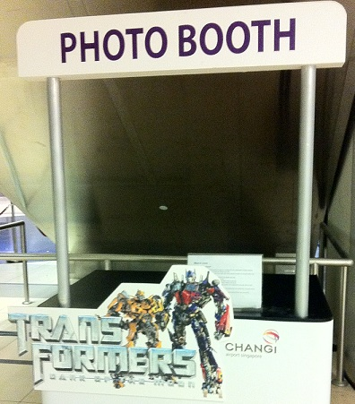 Little Red Dot Diaries: Transformers @ Changi Airport T3 (6