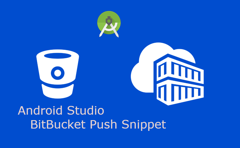 How to push source code to BitBucket from Android Studio