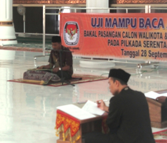Satu Orang Tidak Hadir Uji Baca Al-Quran di Sabang