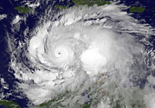 NASA Image Hurricane