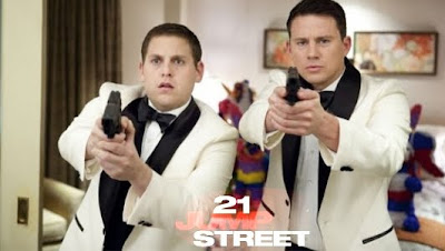 21 Jump Street Movie starring Channing Tattum and Jonah Hill