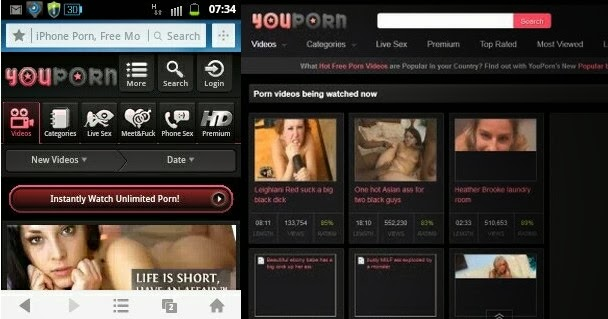 How to open porn sites