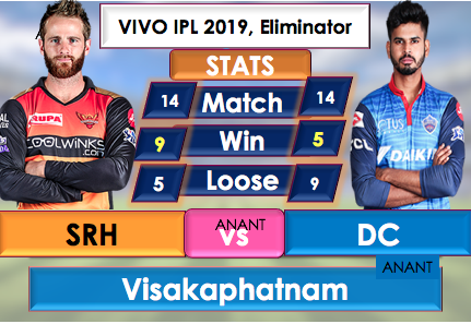 SRH vs DC Live Streaming Online free, DC opt to Bowl