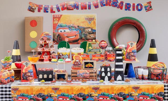 Tema Festa Infantil Carros