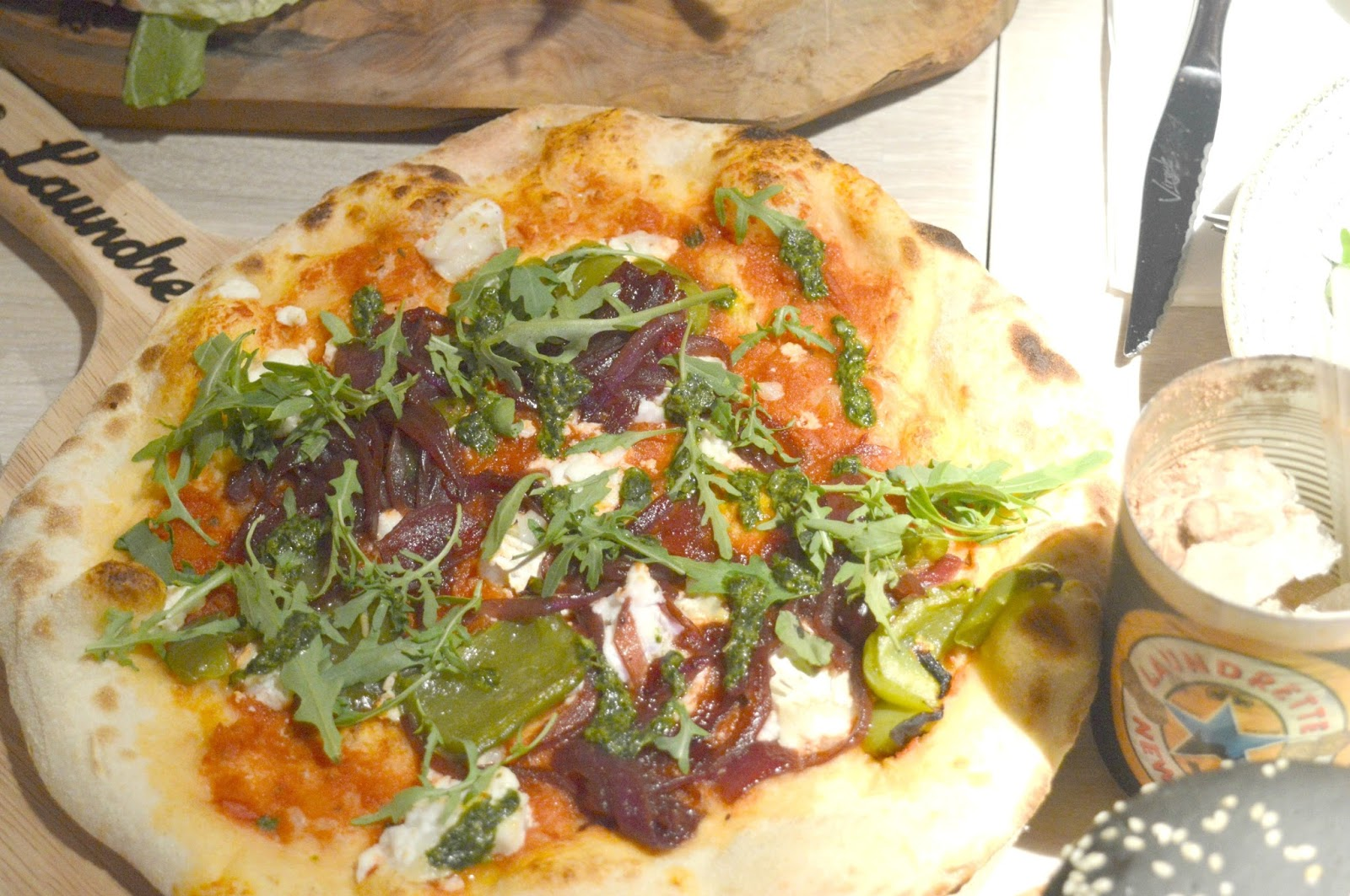 The Laundrette, Newcastle - Pizza