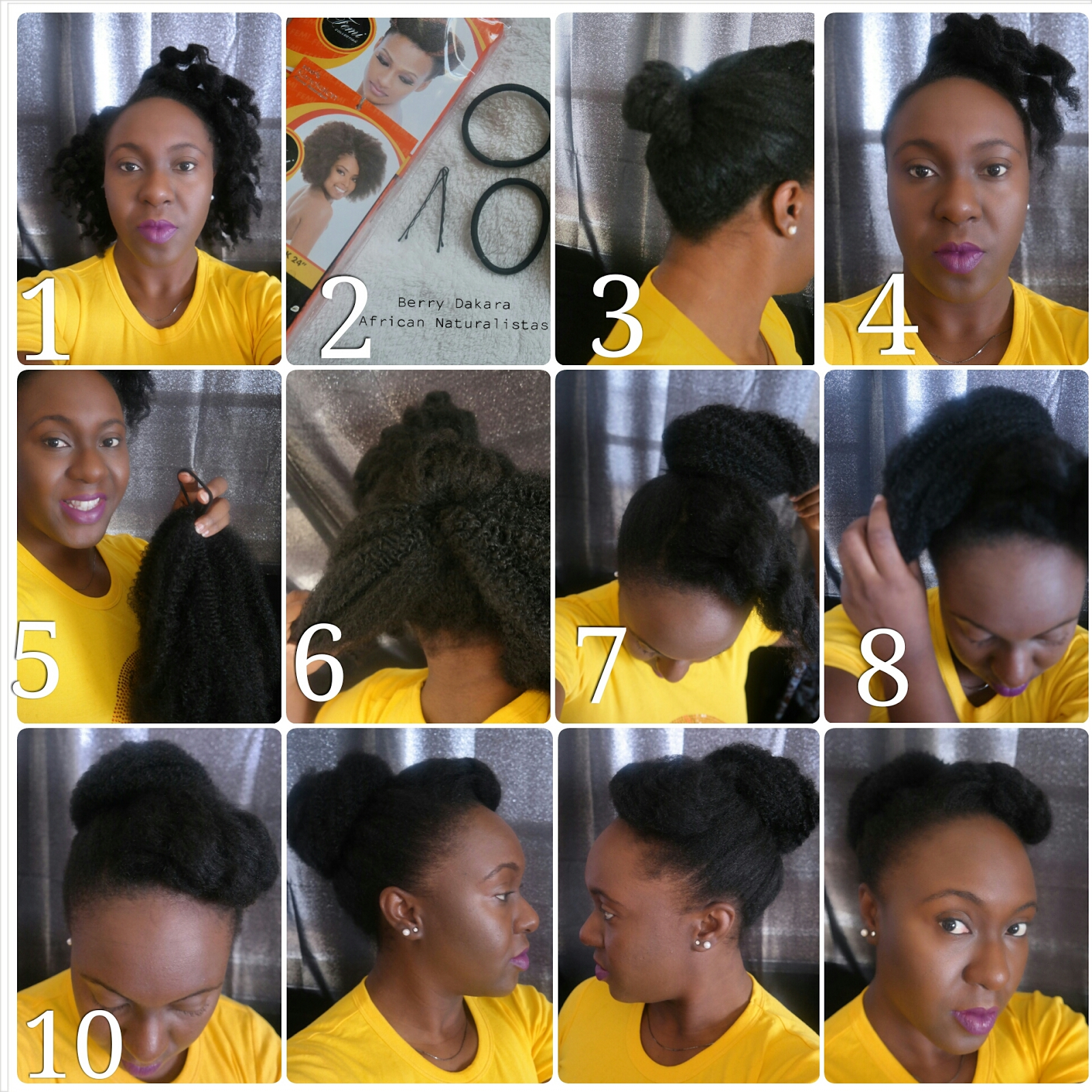 natural hair styles, natural hair, marley hair, natural hair bun, faux bun, natural hair tutorial