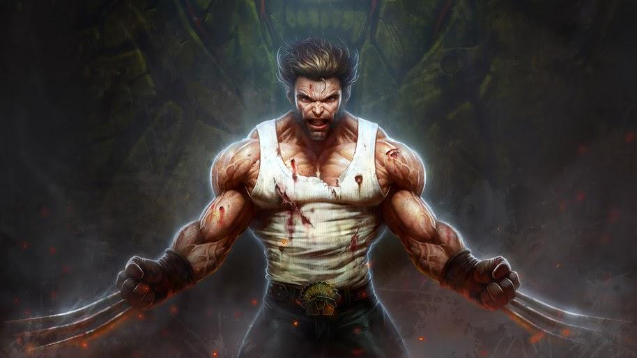 Wolverine, Claws, Marvel, 4K, #260