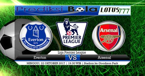 PREDIKSI SKOR Everton vs Arsenal 22 OKTOBER 2017
