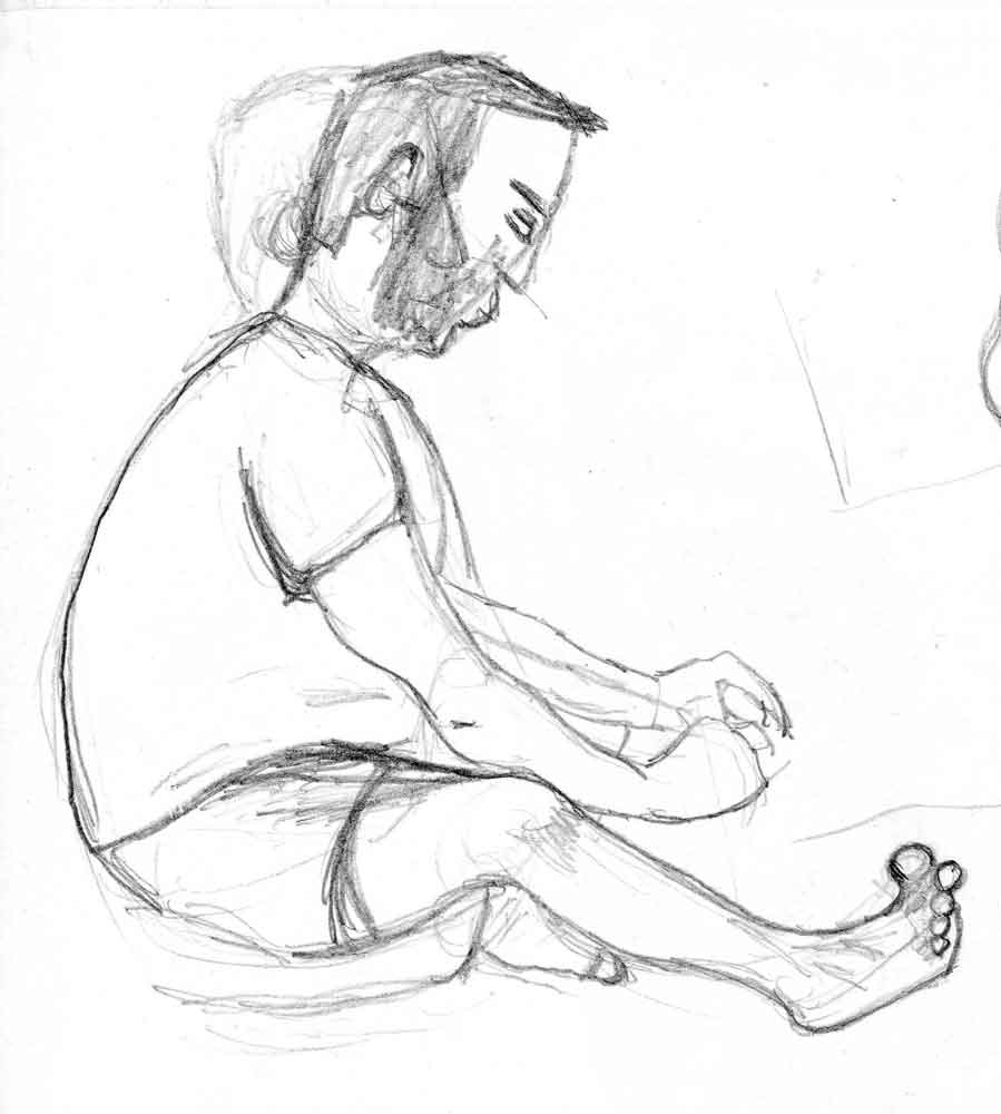 Figure Drawing: February 2011