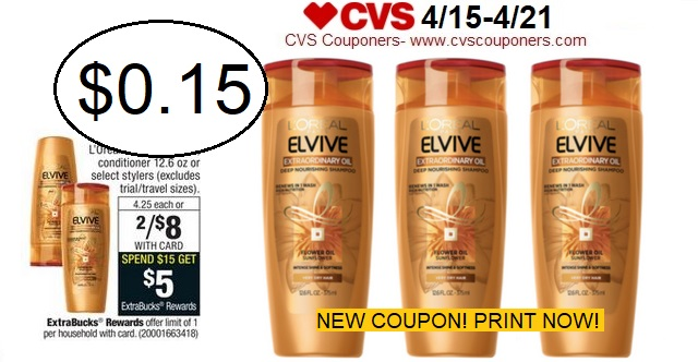 http://www.cvscouponers.com/2018/04/new-coupon-pay-015-for-loreal-elvive.html