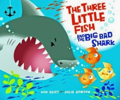 http://www.amazon.com/Three-Little-Fish-Big-Shark/dp/0439719623/ref=sr_1_1?ie=UTF8&qid=1422377644&sr=8-1&keywords=3+little+fish+and+the+big+bad+shark