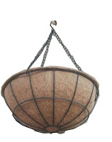 coir hanging planter basket