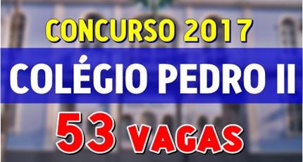 Concurso Colégio Pedro II 2017